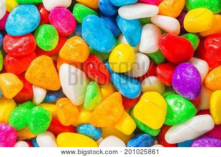Bright Pebble Background