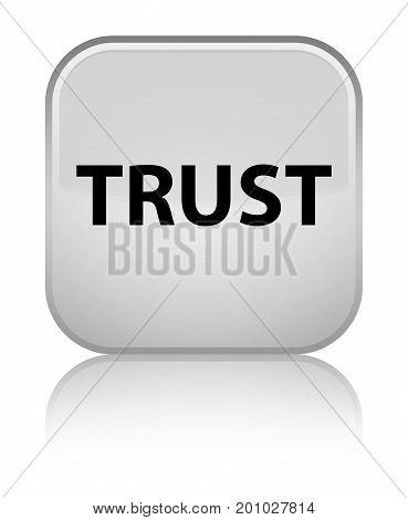 Trust Special White Square Button