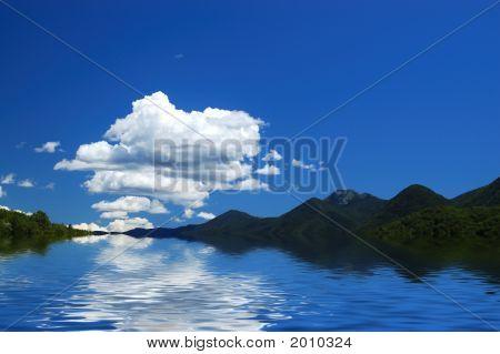 Croatian Vista Abstract