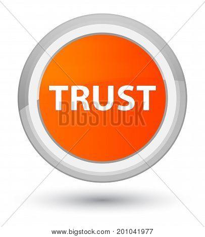 Trust Prime Orange Round Button