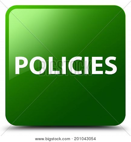 Policies Green Square Button