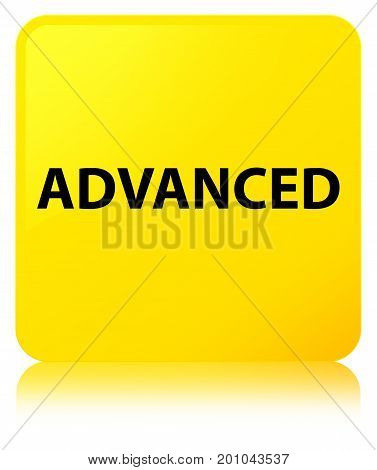 Advanced Yellow Square Button