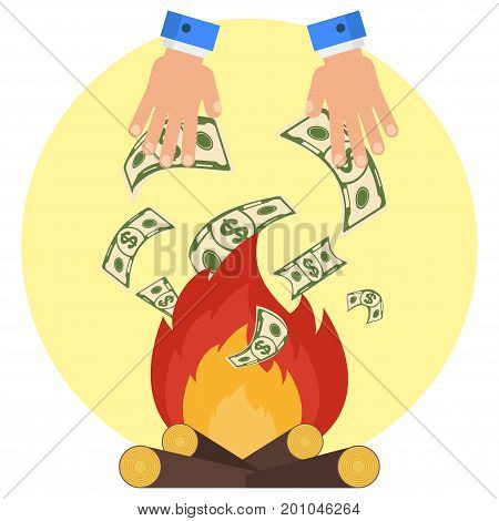 Hand Money Fire