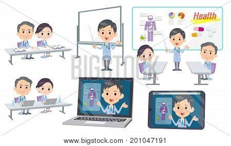 Meeting Lecture Hospital Nurse Doctor Man Nurse_3