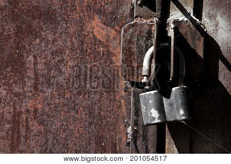 Rusty Iron Unlock Gates For Design
