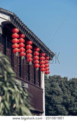 Gubei water town in Beijing, China .