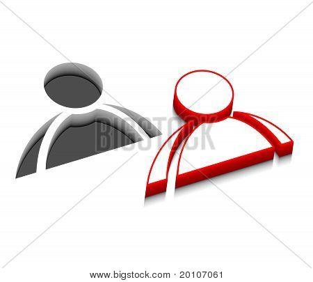 Vector User Web Icons Design