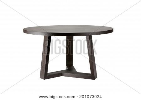 Brown Wooden Design Dinner Table