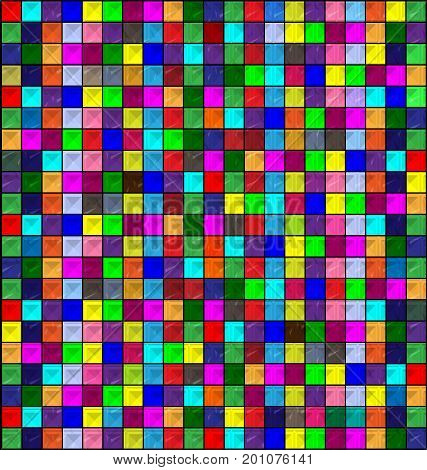 abstract colored background image consisting of lines and blocks