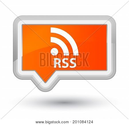 Rss Prime Orange Banner Button