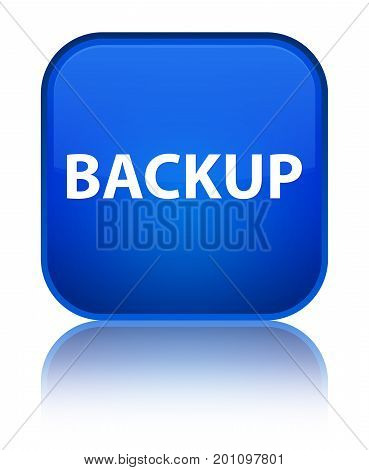 Backup Special Blue Square Button