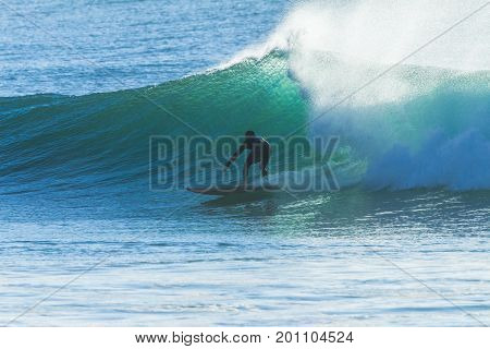 Surfer Wave Ride Surfing