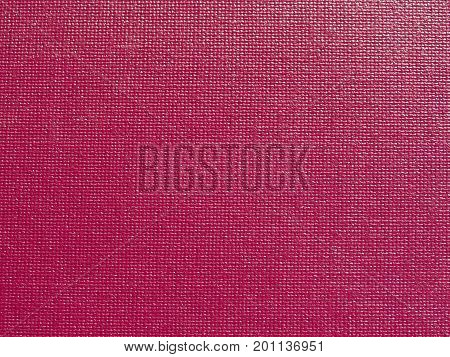 Bordeaux Red Leatherette Fabric Texture Background