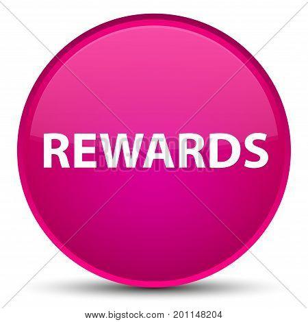 Rewards Special Pink Round Button