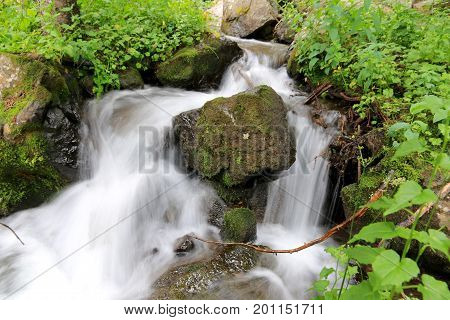Creek at Elwood Pass in Pagosa Spring, Colorado