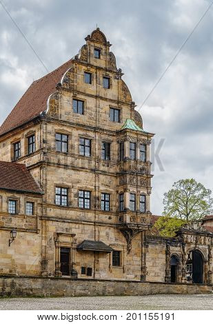 Alte Hofhaltung (Old Court) was built in 15th near Bamberg cathedral Germany