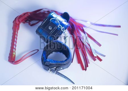Bondage Sex Handcuffs Whip