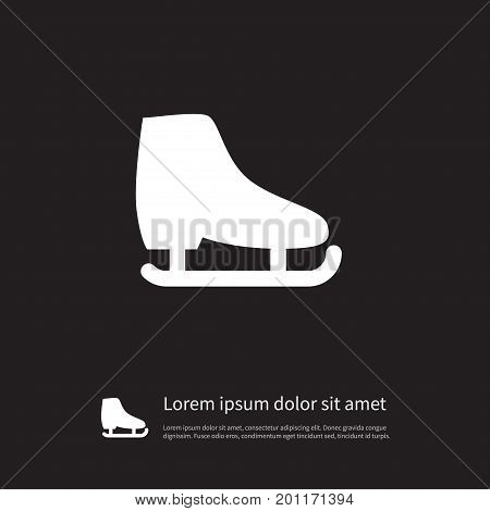 Freeze Vector Element Can Be Used For Skating, Skid, Freeze Design Concept.  Isolated Skid Icon.