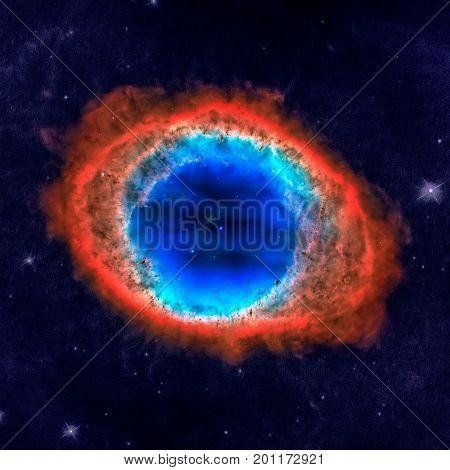 Ring Nebula Is A Planetary Nebula In The Constellation Of Lyra.