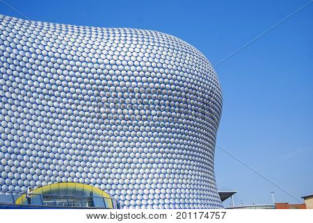 Birmingham, United Kingdom - May 12, 2016: Bullring Shopping Centre has won eight awards including the RIBA Award for Architecture 2004 and Destination of the Year Retail Week Awards 2004.
