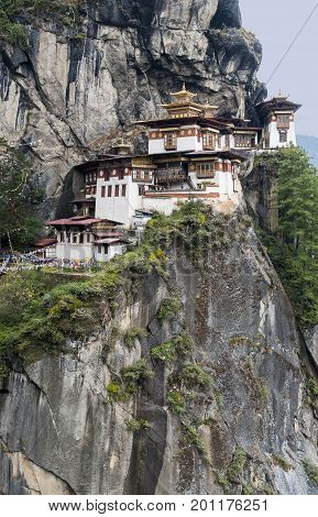 Paro Taktsang is lone of the most revered places of pilgrimage, with a founding shrouded in strange tales and legend.