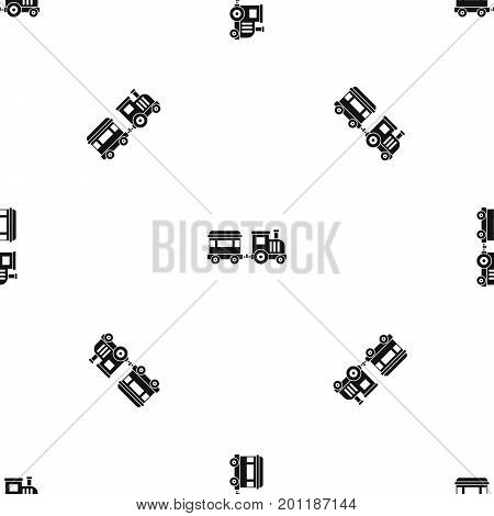 Toy trainin simple style isolated on white background vector illustration