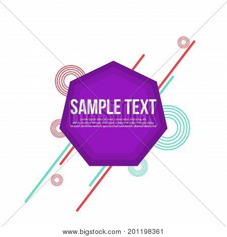 Collection stock geometric abstract background vector art