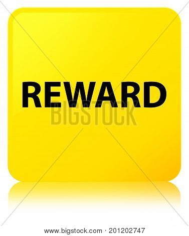 Reward Yellow Square Button