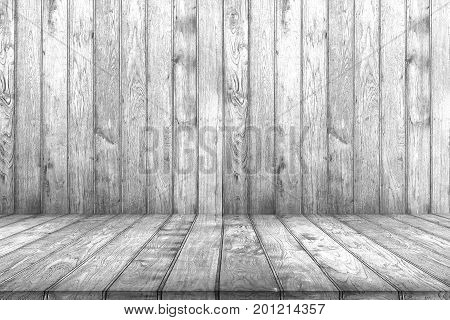 Closeup Of Grunge White Wood Background. Wooden Texture.
