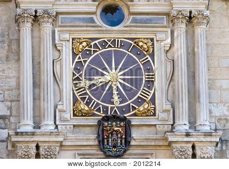 Old Ornate Clock