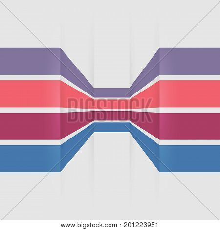 Template banners with colorful lines, stock vector