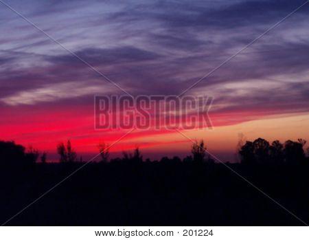 California Sunset September 4