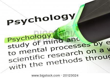 Psychology Definition
