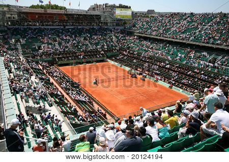 Court Philippe Chatrier Of Roland Garros 2011