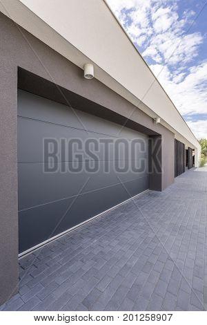 Enormous Garage Door