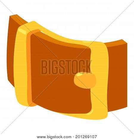 Teenager belt icon. Isometric illustration of teenager belt vector icon for web
