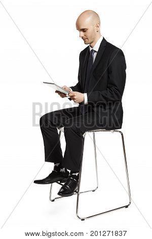 Looking At Digital Tablet