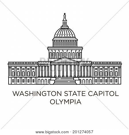 The Washington State Capitol or Legislative Building in Olympia is the home of the government of the state of Washington.