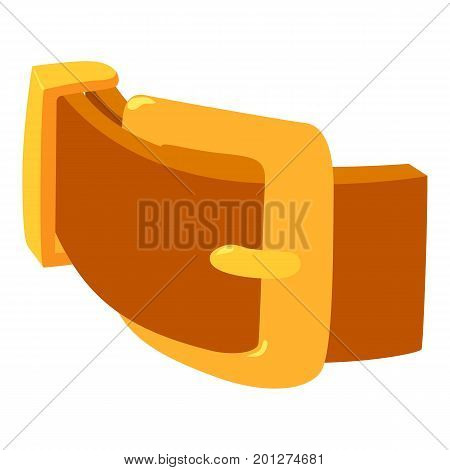 Women belt icon. Isometric illustration of women belt vector icon for web
