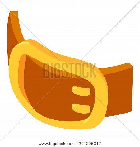 Child belt icon. Isometric illustration of child belt vector icon for web