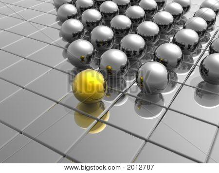 Golden Unique Sphere
