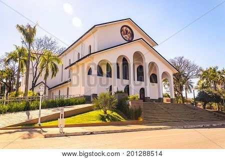 Mother Church In The City Of Colorado Pr, Brazil