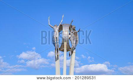 Monument O Passageiro In Londrina City