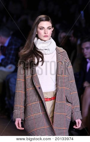NEW YORK - FEBRUARY 18: Mercedes-Benz Fashion Week presents Tommy Hilfiger collections at Bryant Park on February 18, 2010 in New York City.