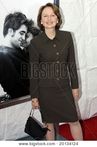 """NEW YORK - MARCH 1: Actress Kate Burton attends the movie premiere of """"Remember Me"""" at the Paris Theatre on March 1, 2010 in New York City."""