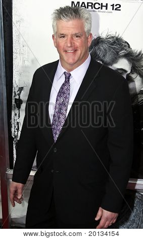 "NEW YORK - MARCH 1: Actor Gregory Jbara attends the movie premiere of ""Remember Me"" at the Paris Theatre on March 1, 2010 in New York City."