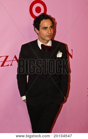 NEW YORK - APRIL 15: Designer Zac Posen attends the Zac Posen for Target Collection launch party at the New Yorker Hotel on April 15, 2010 in New York City.