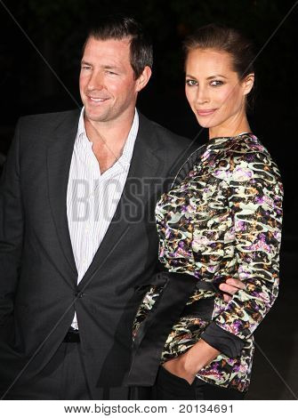 NEW YORK - APRIL 20: Actor Ed Burns and Christy Turlington Burns arrive at New York State Supreme Court for the Vanity Fair Party at the 2010 Tribeca Film Festival on April 20, 2010 in New York City.