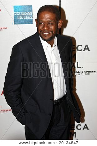 """NEW YORK - APRIL 22: Actor Forest Whitaker attends the premiere of """"My Own Love Song"""" during the 2010 TriBeCa Film Festival at the TriBeCa Performing Arts Center on April 22, 2010 in New York City."""