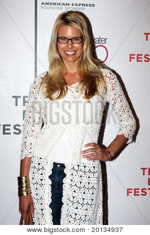 """NEW YORK - APRIL 25: Actress Beth Ostrosky attends the premiere of """"Last Play at Shea"""" at the TriBeCa Performing Arts Center during the 2010 TriBeCa Film Festival on April 25, 2010 in New York City."""